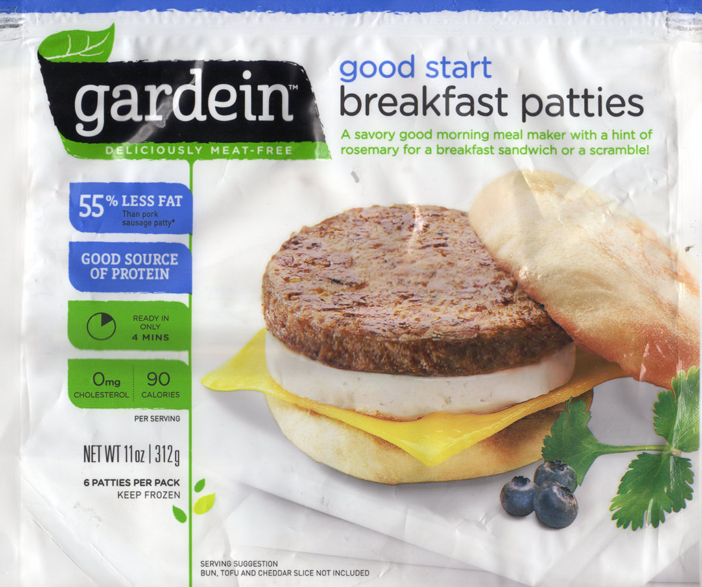 Gardein Breakfast Patties package front
