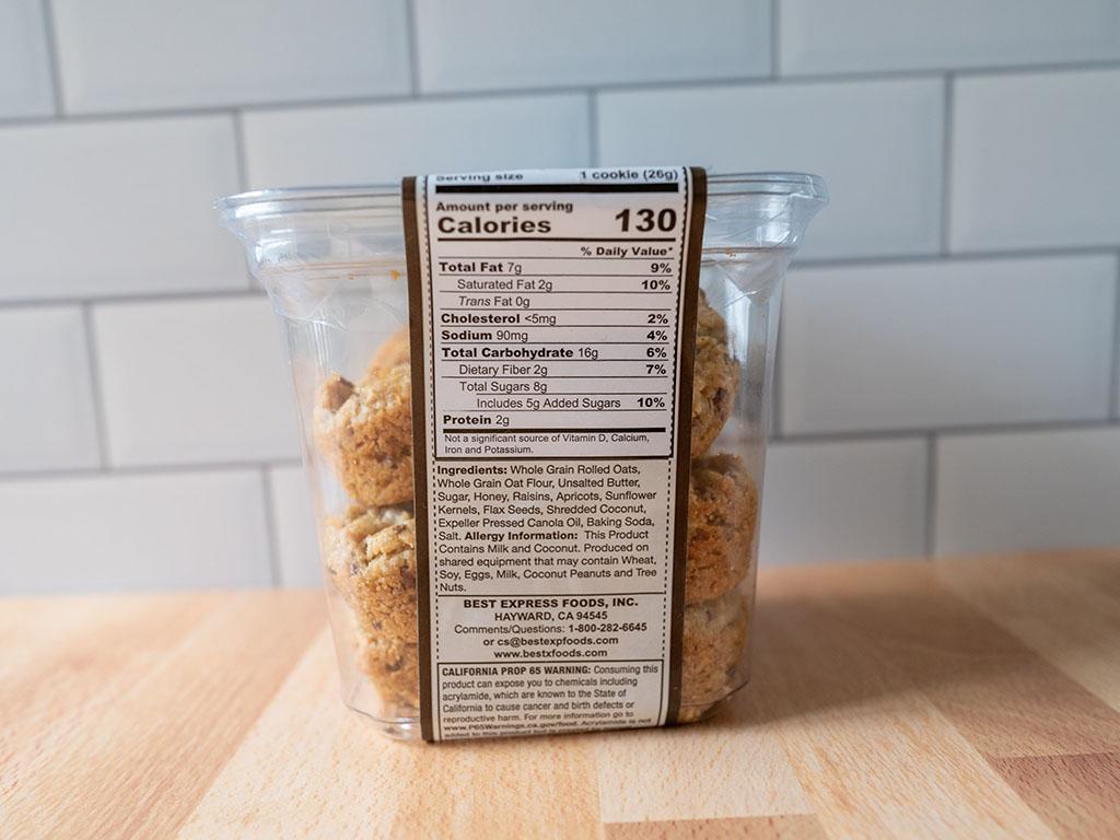 Aussie Bites ingredients and nutrition