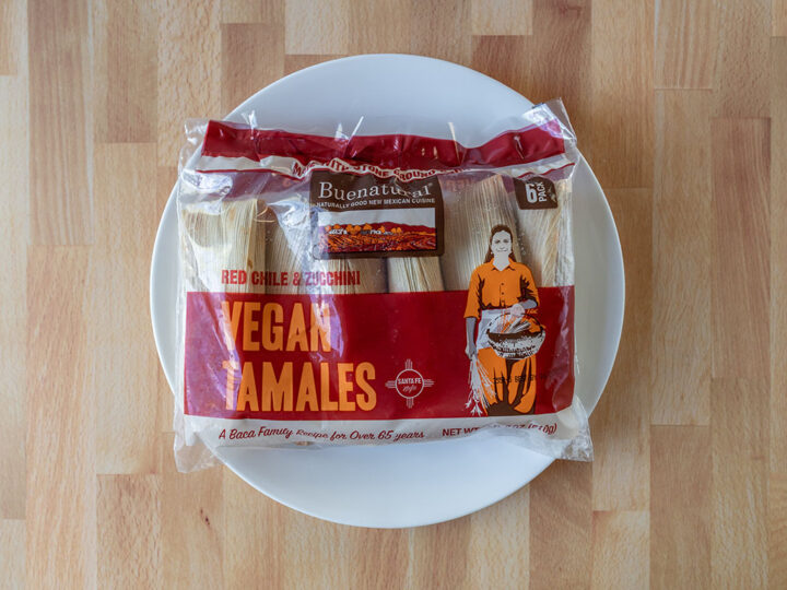 Buenatural Vegan Tamales