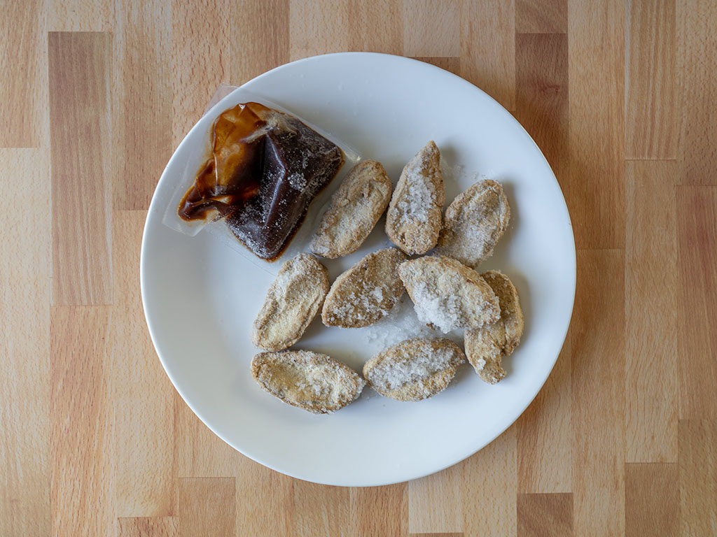 Gardein Sweet And Tangy Barbecue Wings whats in the bag