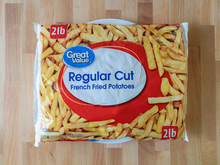 Great Value Regular Cut French Fried Potatoes