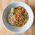 Thai red curry with rice noodles