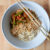 Thai jungle curry with rice noodles