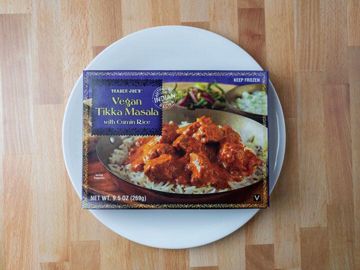 Trader Joe's Vegan Tikka Masala
