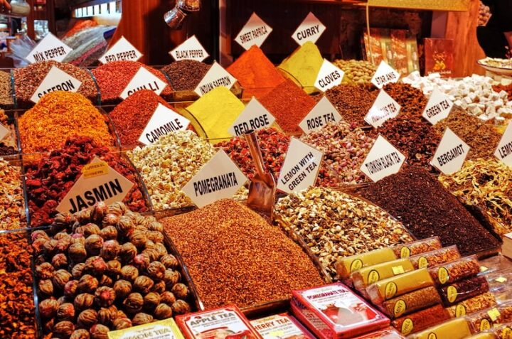 Spices of Turkey