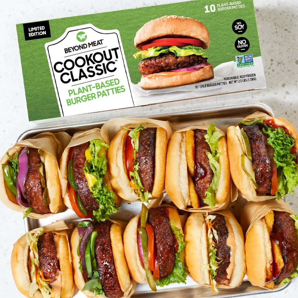 Cookout Classic pack, credit Beyond Meat