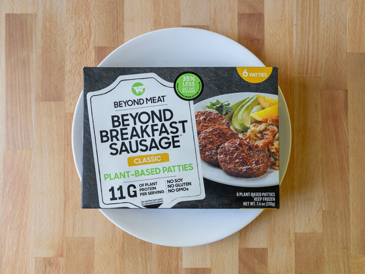 Beyond Meat Beyond Breakfast Sausage