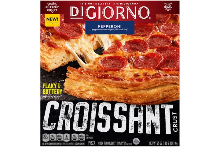 Croissant Crust Pizza, credit DIGORNO