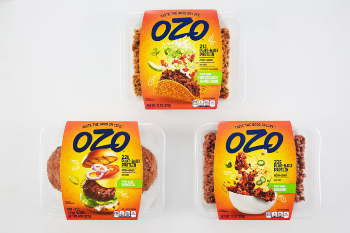 OZO plant based protein, credit OZO
