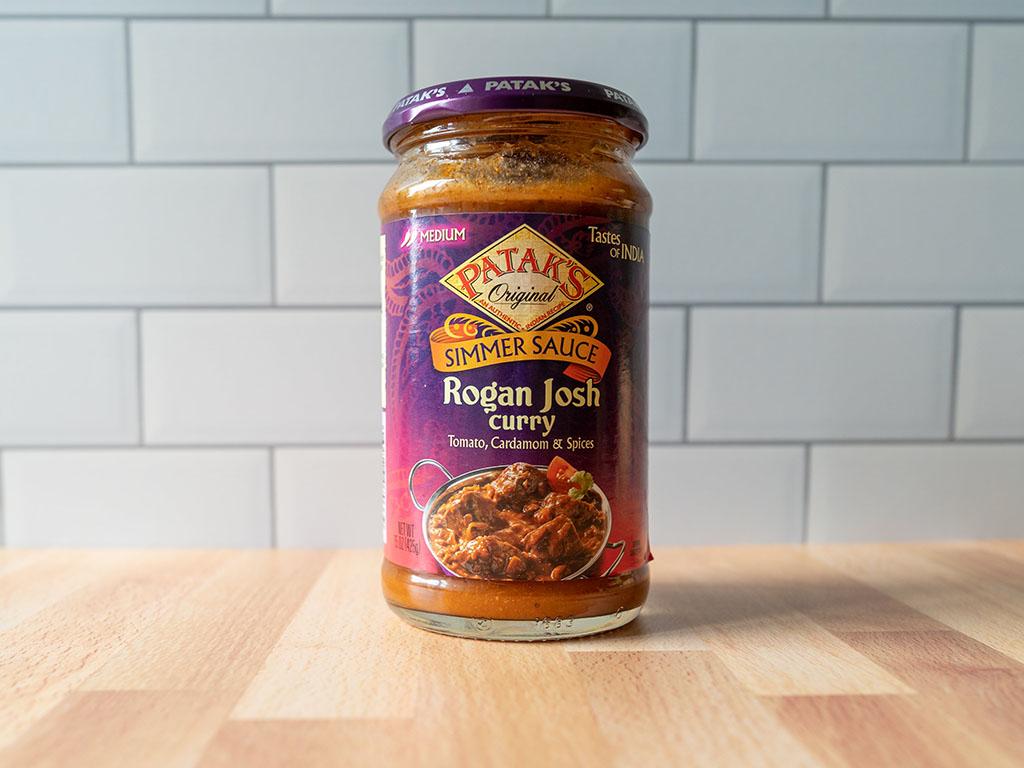 Pataks Rogan Josh Curry Simmer Sauce
