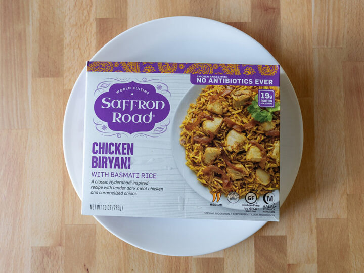 Saffron Road Chicken Biryani