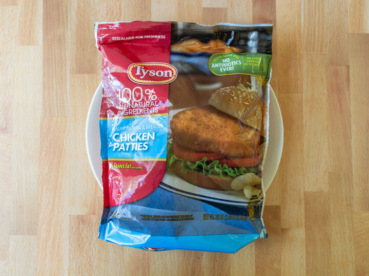 Tyson Frozen Chicken Patties