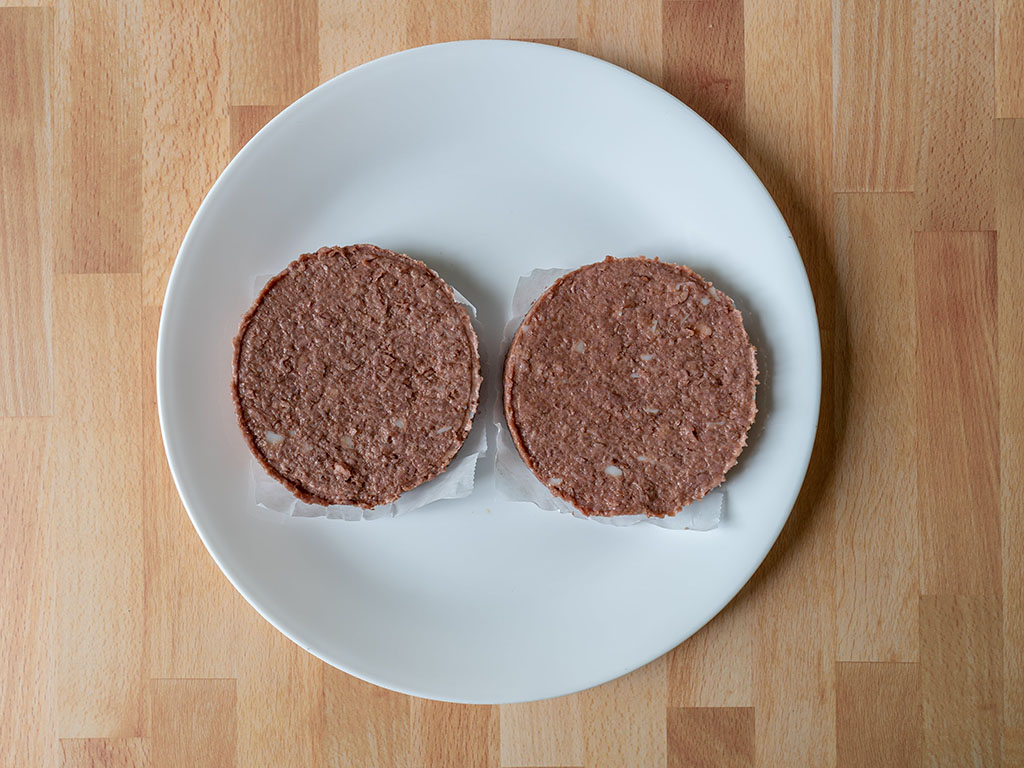 MorningStar Farms Incogmeato Burger raw