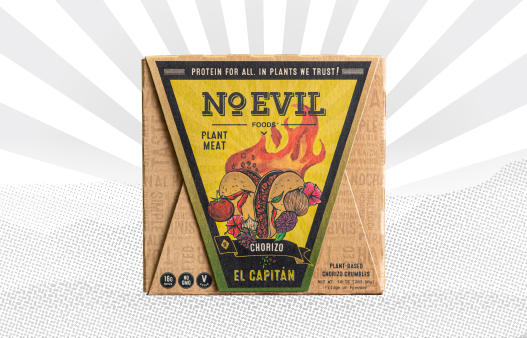 El Capitan chorizo from No Evil Foods