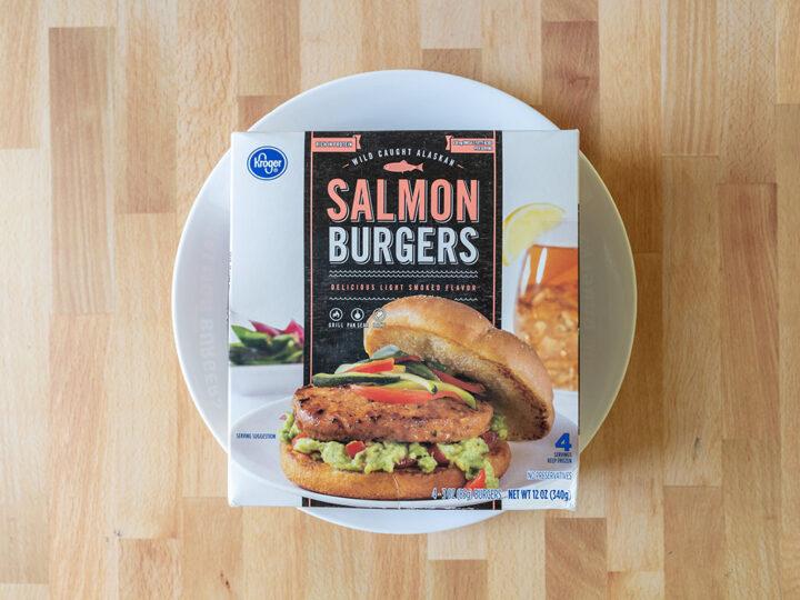 Kroger Salmon Burgers