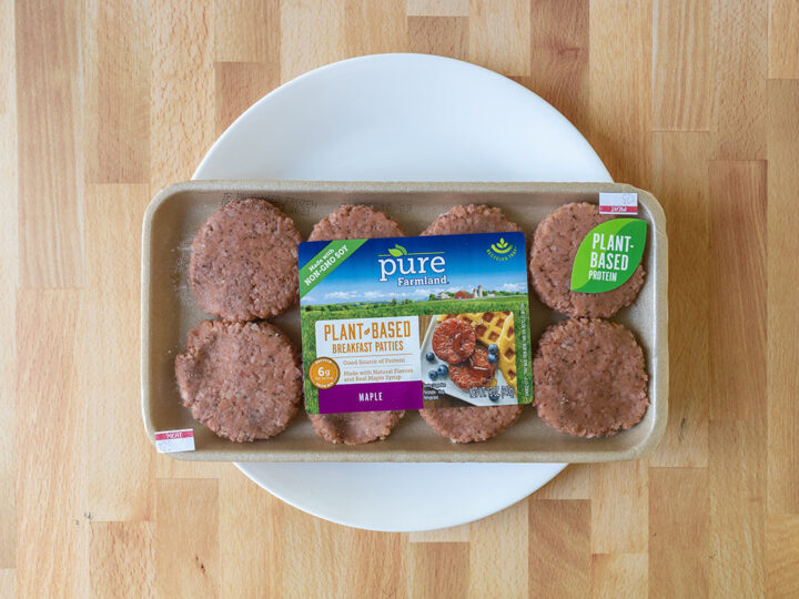 Pure Farmland Plant Based Breakfast Sausage