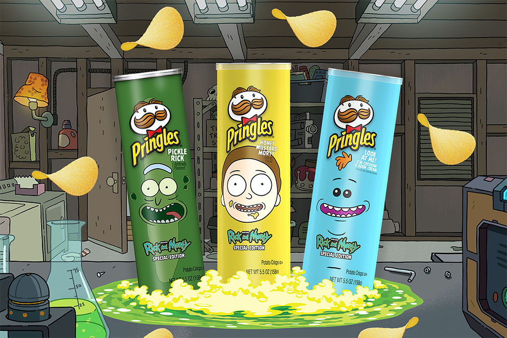 Pringles launches Rick And Morty-Inspired Flavors
