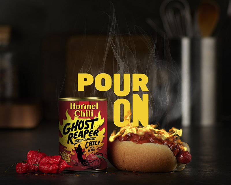 Hormel Ghost Reaper chili