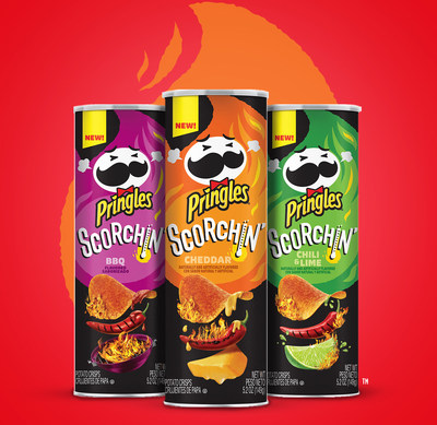 Pringles new Scorchin lineup