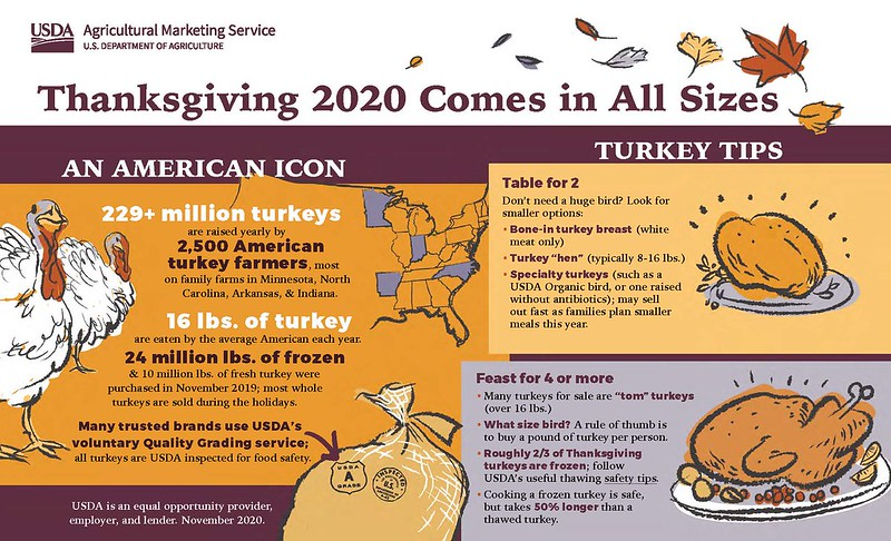 USDA turkey advice