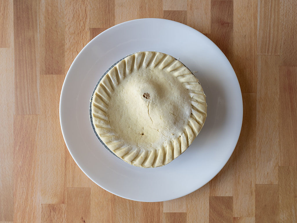 Marie Callender's Meatless Gardein Be'f Pot Pie frozen