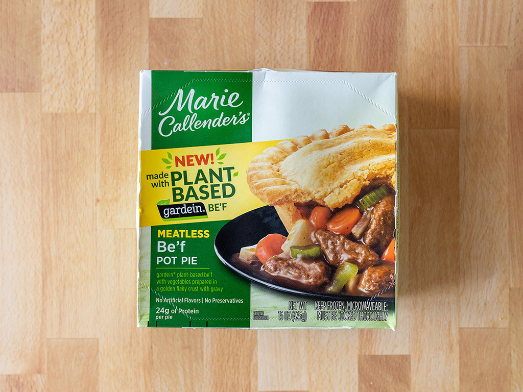 Marie Callender's Meatless Gardein Be'f Pot Pie