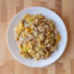 Turkey fried rice