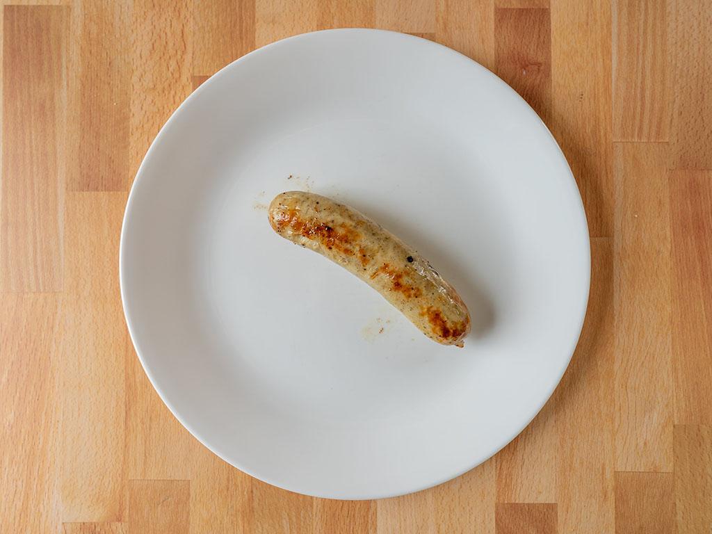 Boar's Head Chicken Bratwurst cooked