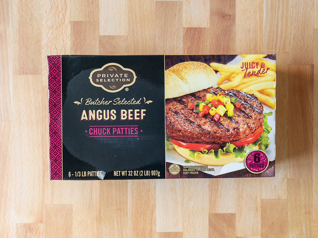 Kroger Private Selection Angus Beef Burgers