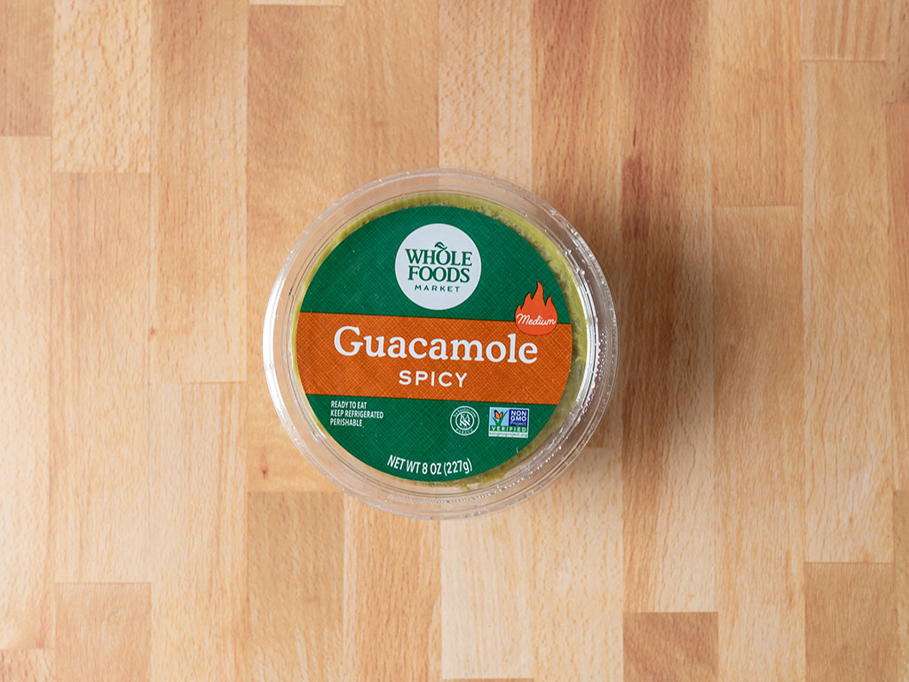 Whole Foods Guacamole spicy