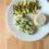 Cilantro-lime lingcod