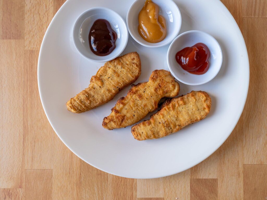 Simple Truth Homestyle Chicken Tenders air fried