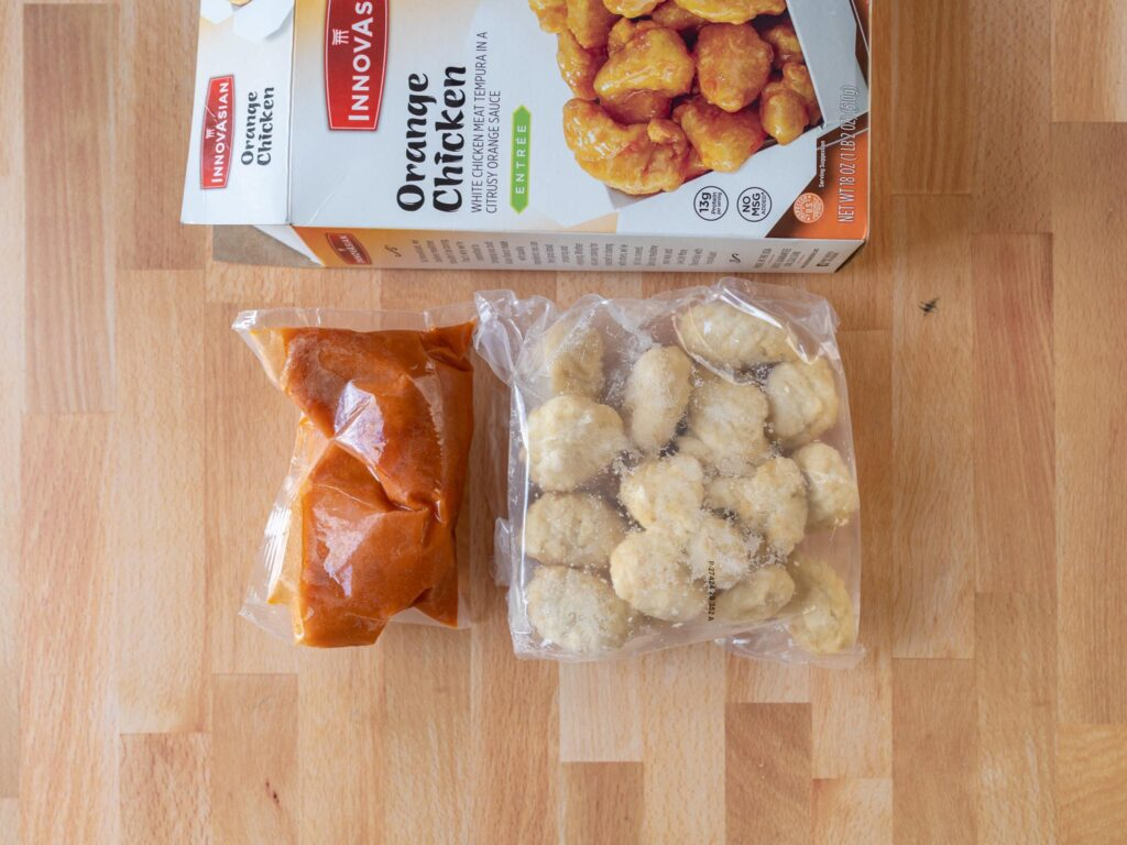 InnovAsian Orange Chicken contents
