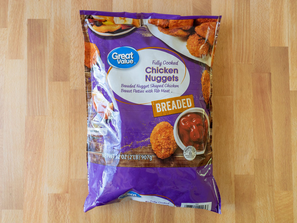 Great Value Breaded Chicken Nuggets