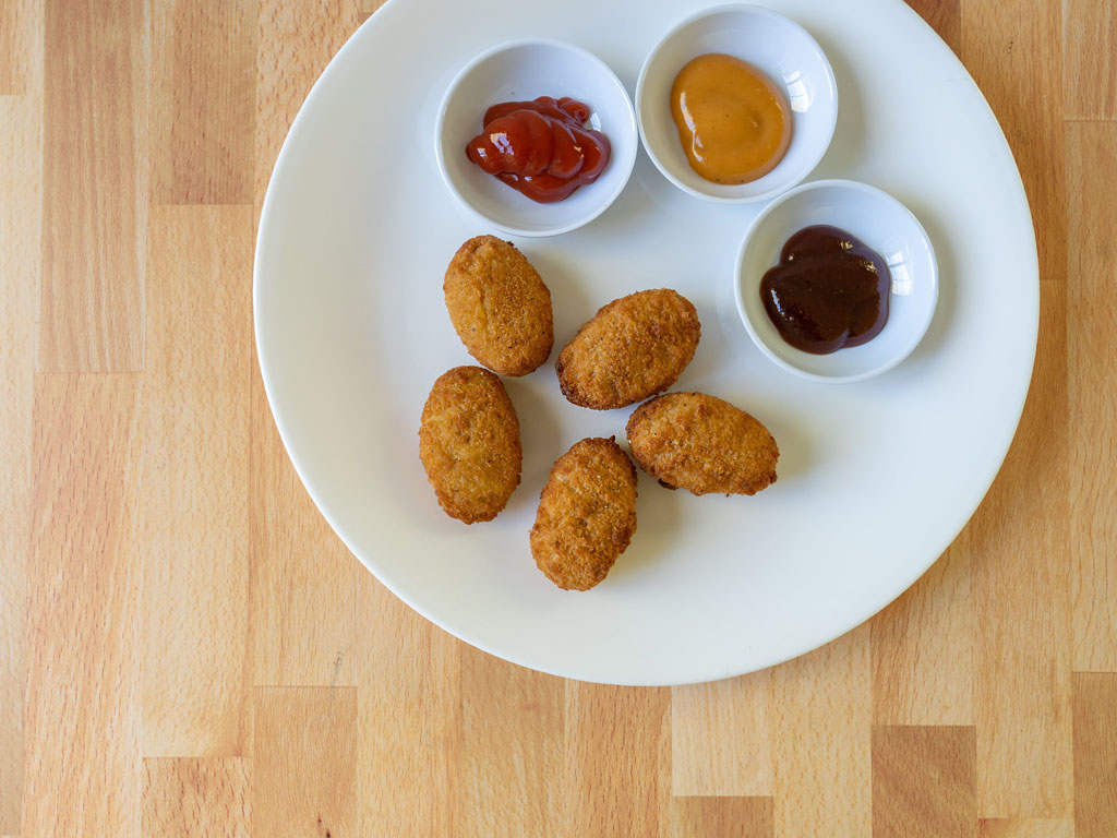 Great Value Breaded Chicken Nuggets air fried