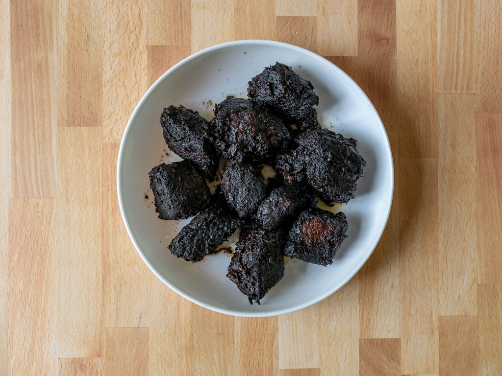 Mission Hill Burnt Ends cooked