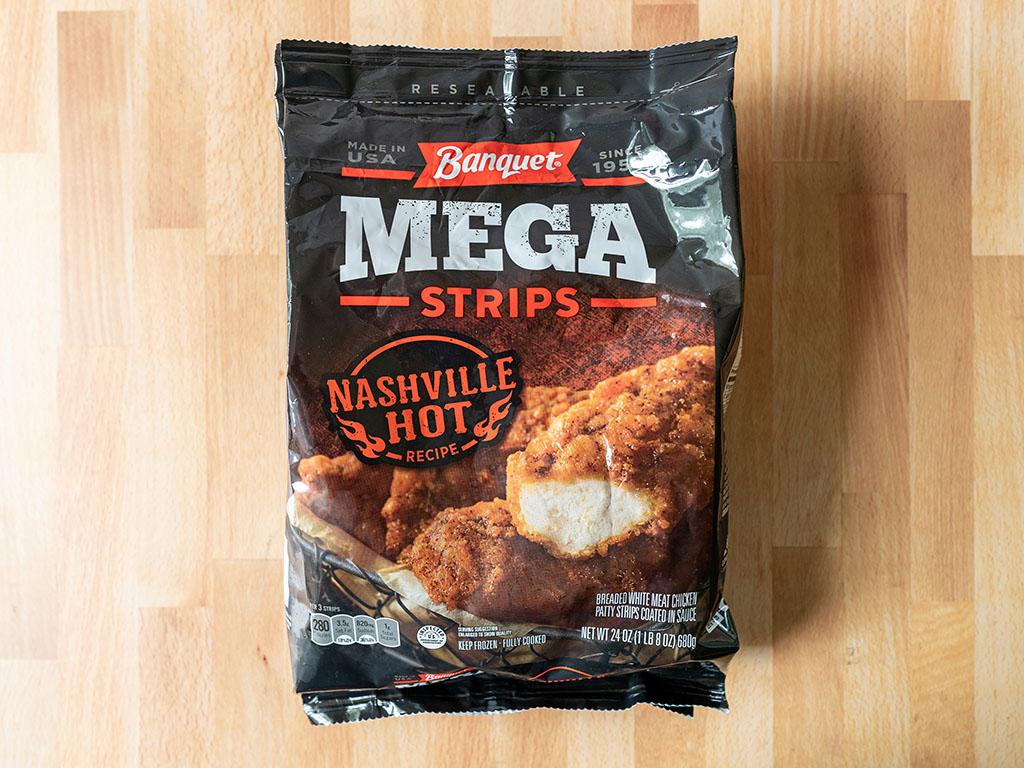Banquet Nashville Hot Mega Strips