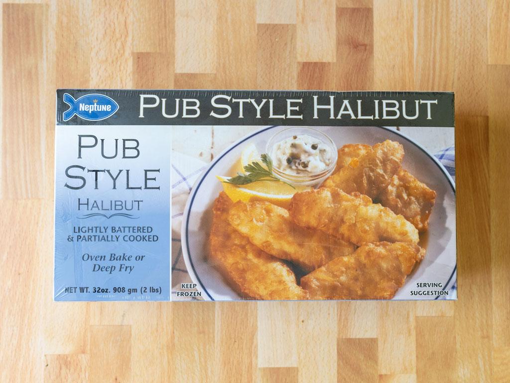 Neptune Pub Style Halibut