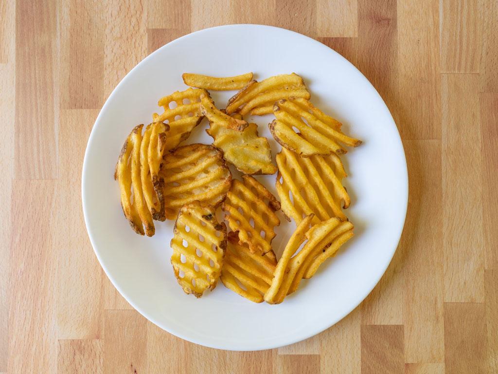 Ore-Ida Golden Waffle Fries air fried
