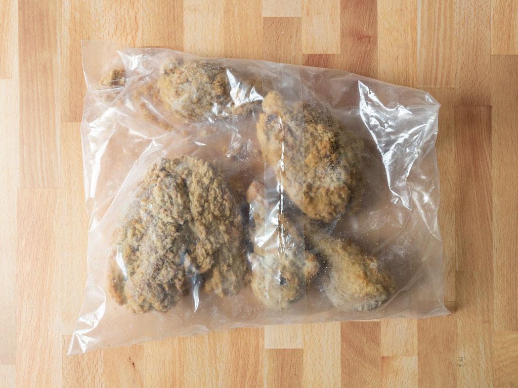 Banquet Original Crispy Fried Chicken frozen