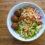 Vietnamese-style vegan meatball salad
