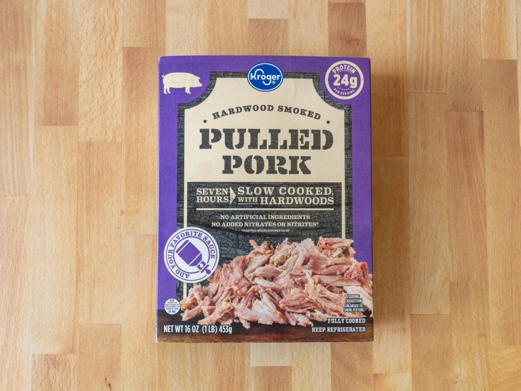 Kroger Hardwood Smoked Pulled Pork