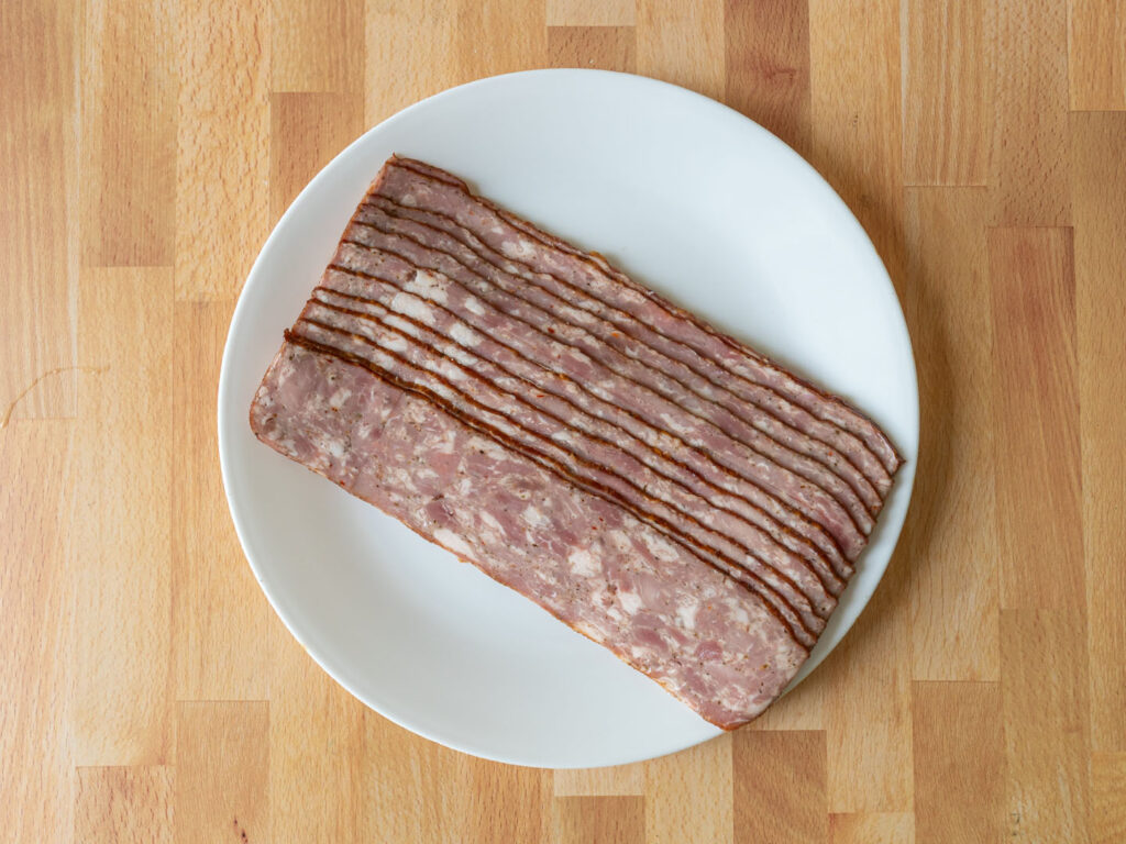 Johnsonville Sausage Strips uncooked