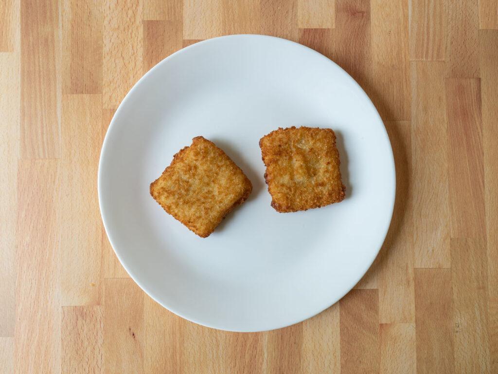Gorton's Fish Sandwich cooked