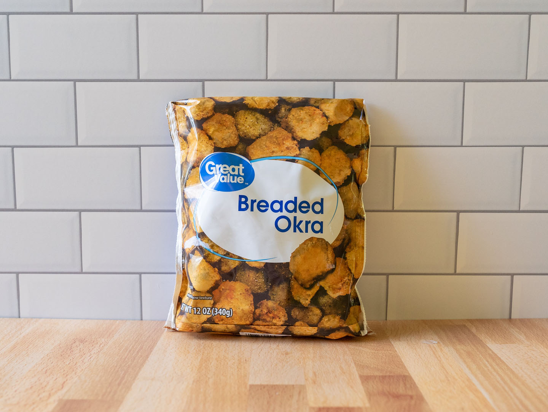Great Value Breaded Okra