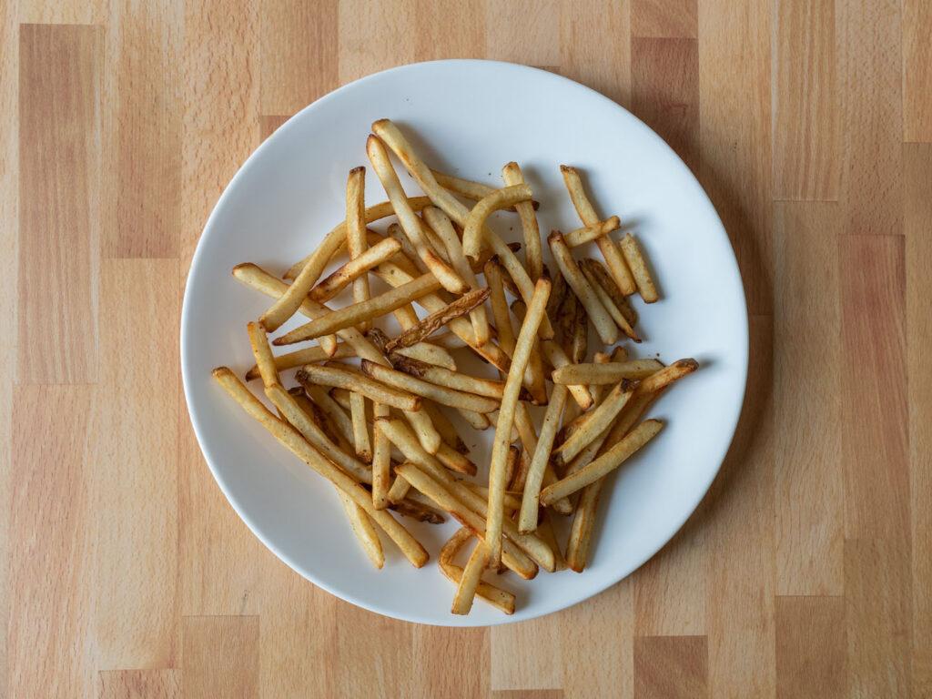 Alexia House Cut Fries with Sea Salt air fried