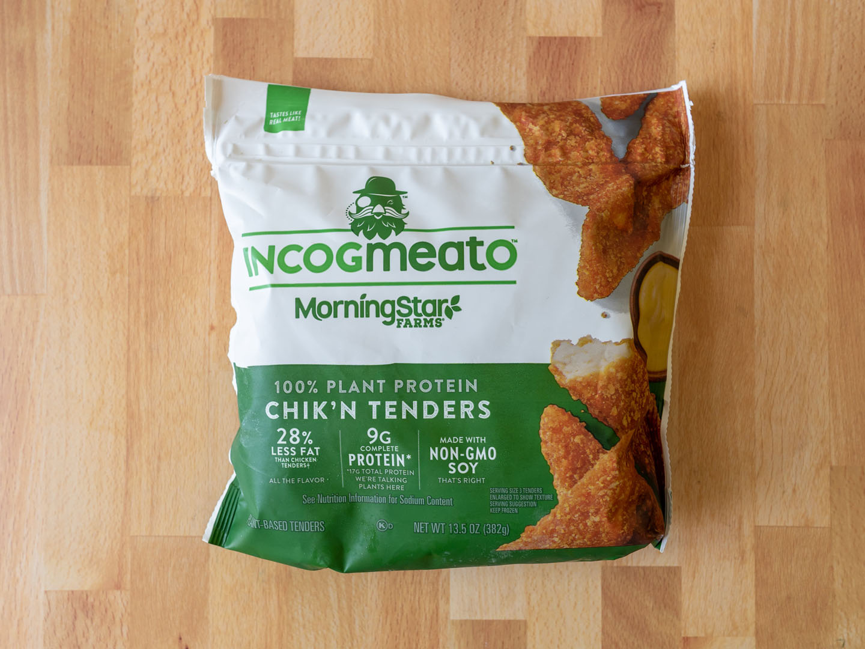 Incogmeato Chik'N Tenders review