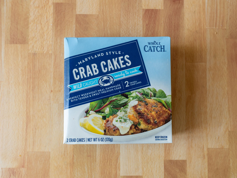 Whole Catch Maryland Style Crab Cakes