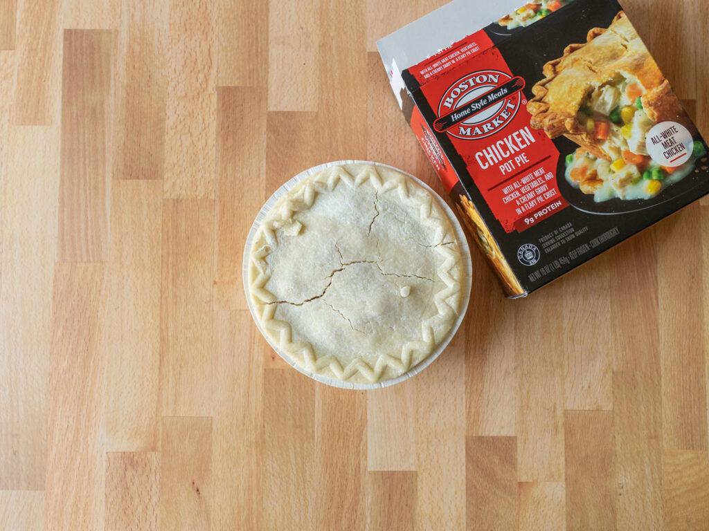 Boston Market Chicken Pot Pie frozen