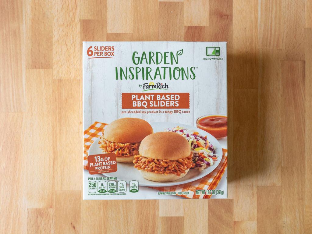 Garden Inspirations Plant Based BBQ Sliders